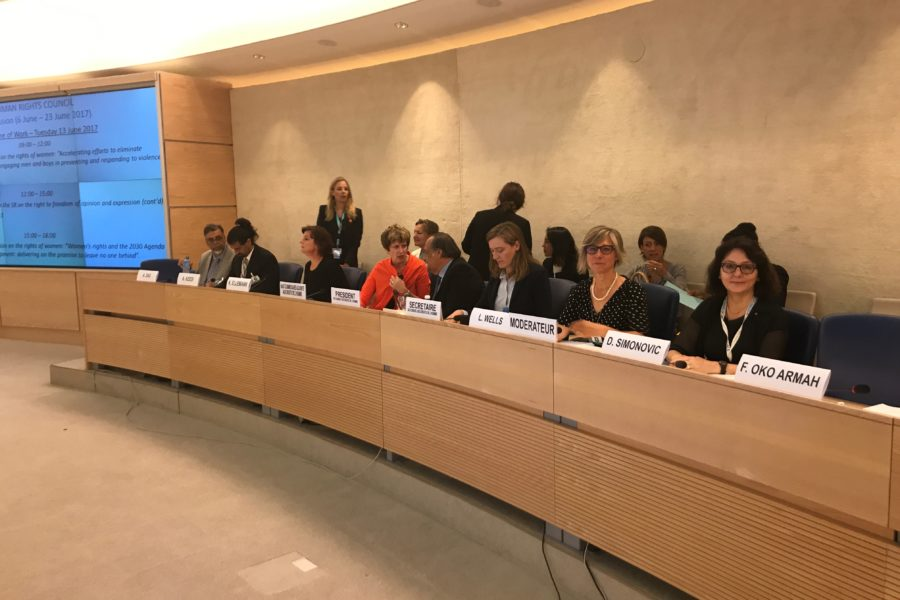 Lana Wells Takes Part in Shaping a UN Resolution to Prevent Violence against Women
