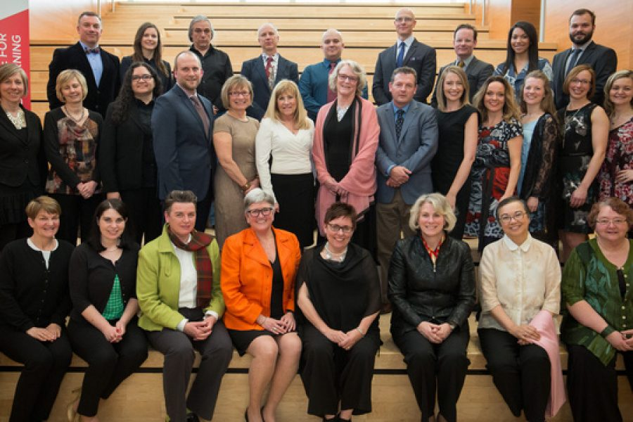 The Faculty of Social Work and The Werklund School of Education's Partnership Received Teaching Award