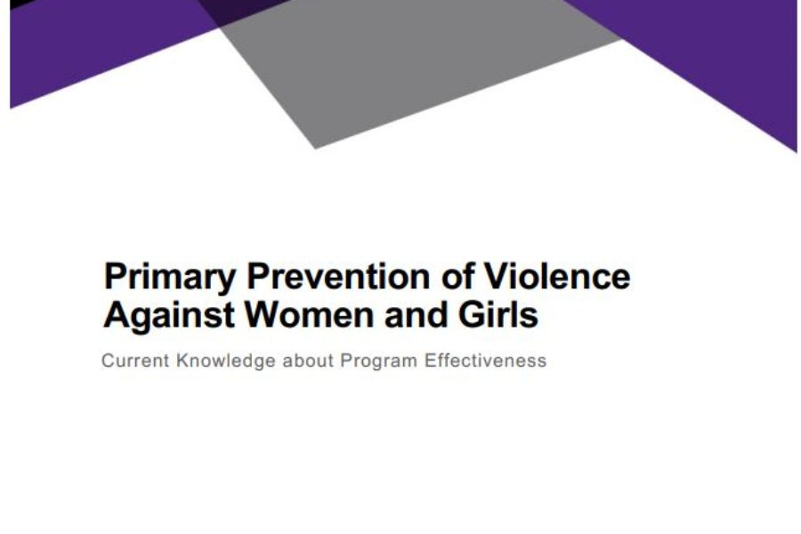 Primary Prevention of Violence Against Women and Girls: Current Knowledge about Program Effectiveness