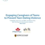 Engaging Caregivers of Teens to Prevent Teen Dating Violence
