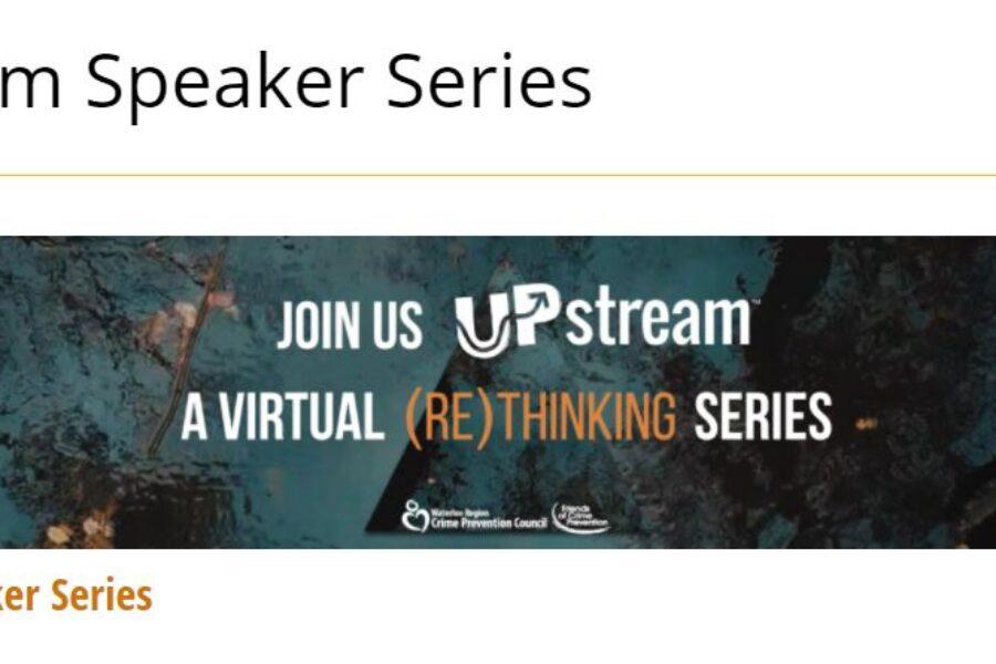Lana Wells spoke at the Upsteam Speakers Series